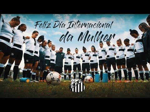 Uma homenagem do Santos FC ao Dia Internacional da Mulher