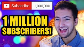 1 MILLION SUBSCRIBERS - THANK YOU!