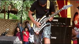 Legacy Band Cover Srigala Malam - Power Metal (in festival)