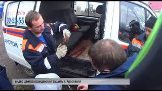 Ярославские спасатели помогли мальчику вытащить палец из петли замка