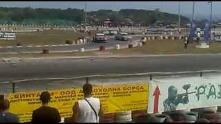 Super drift series Round 4 - Tandem drift BMW E36 vs. Nissan Sylvia