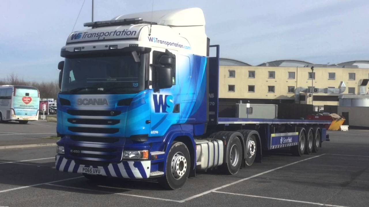 WS Transportation @ Donington Park Services 14/03/16