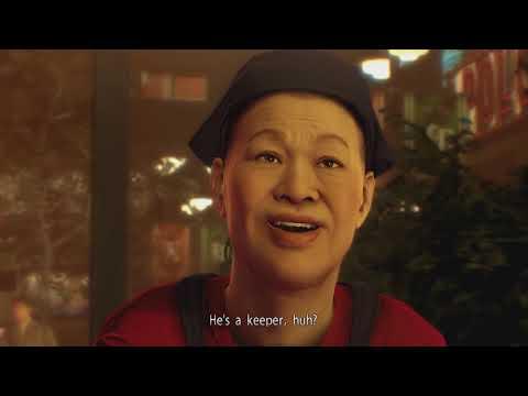 Yakuza 0 - Majima & Makoto Get Takoyaki Full Scene |