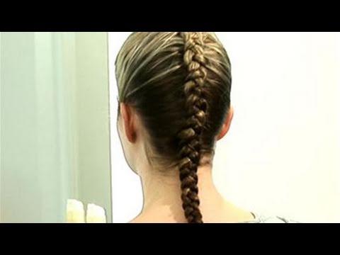 how to do a dutch braid youtube
