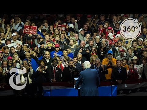 Donald Trump Cheered On By Ohioans On 'Thank You' Tour | The Daily 360 | The New York Times
