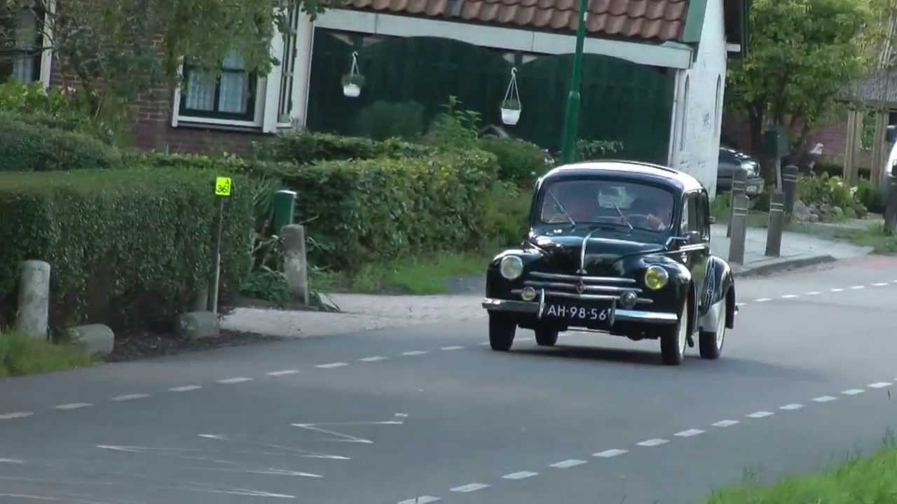 Antieke Oldtimer Oude Auto S En Brommers Toertocht Tourtocht Door Benschop 15 09 2013 Youtube
