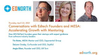 Conversations with EdTech Founders and MESA: Accelerating Growth with Mentoring