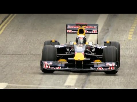 F1 on the Streets of Milton Keynes - Red Bull Home Run