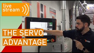 The Servo Advantage on Holz-Her EdgeBanders (in English) (Live Aug 24, 2020)