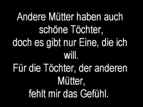 Sportfreunde Stiller Andere Mütter (Lyrics)
