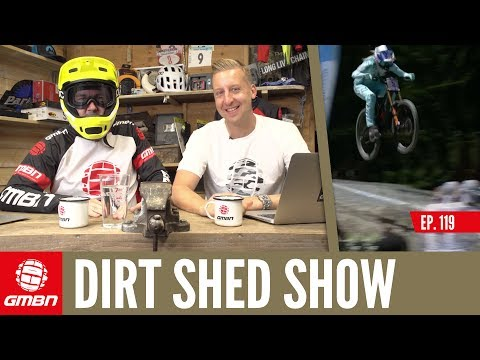 How Have Gadgets Transformed Mountain Biking Over Time? | Dirt Shed Show Episode 119