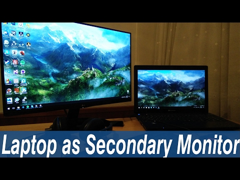 how-to-use-a-laptop-as-a-secondary-monitor