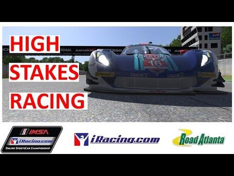 High Stakes Racing (Full Race) - iRacing IMSA at Road Atlanta!