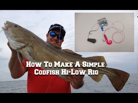 How To Make A Simple Codfish Hi-Low Rig