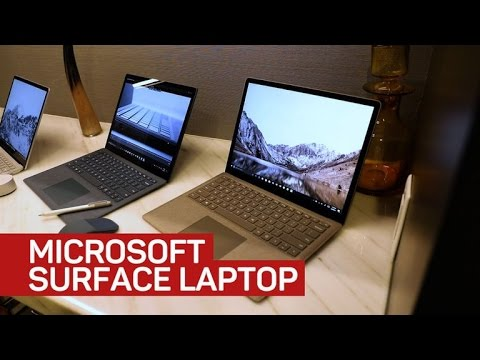 Thumbnail: Microsoft's new Windows 10 S Surface is a surprisingly traditional laptop