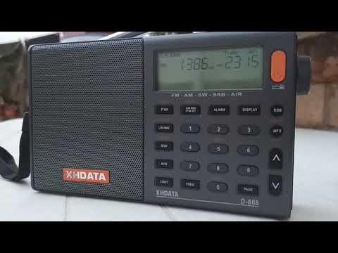 1386 kHz Radio Baltic Waves International, Viešintos (Lituania)-Baeza 2888km