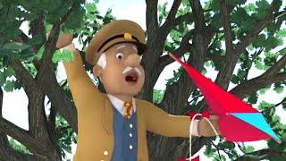 Strażak Sam | Uwięziony na drzewie dla latawca! Najlepsze uratowania | Kreskówki dla dzieci