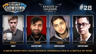 Streamer Showdown #28 League of Legends Edition (feat. Voyboy, Yassuo, TFBlade, and MarkZ)