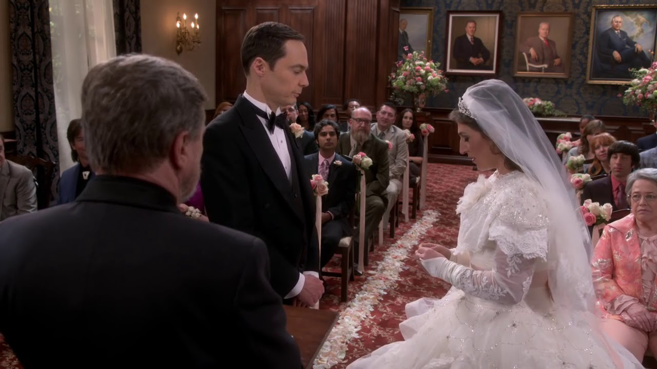 Sheldon And Amy Wedding.The Big Bang Theory S11e24 Sheldon And Amy Get Married 11x24 Preview Hd