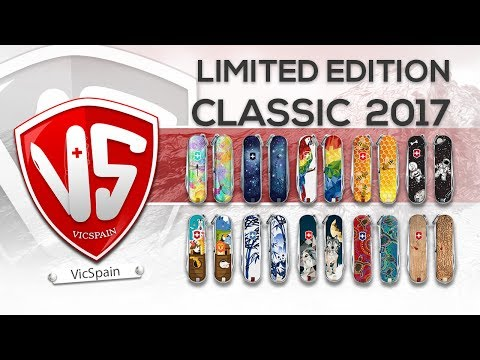 VICTORINOX CLASSIC LIMITED EDITION 2017 (All subtitles)