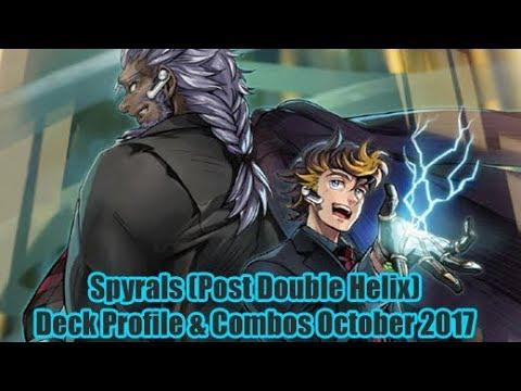 Spyrals (Post Double Helix) - Yugioh Deck Profile & Combo Video October 2017