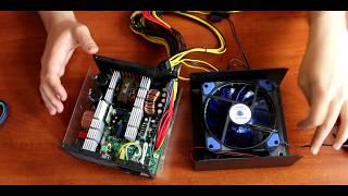 Обзор бюджетного блока питания для игрового ПК Vinga 1350W VPS-1350 Mining edition|СБОРКА|ПОДБОРКА|