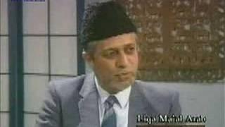 Islam - Liqaa Maal Arab -  1996-04-11 - Part 1 of 6
