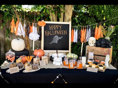 2017 Halloween Party Decoration Ideas