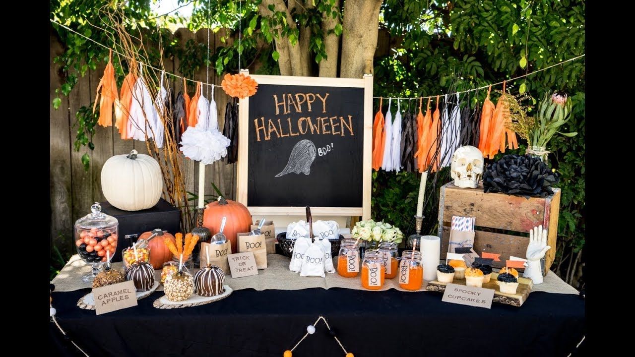 8 Halloween Party Decoration Ideas - YouTube