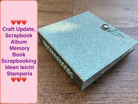 Diy Inspiration Scrapbook Album , Memory Book, Mini Album, Scrapbooking Ideen, Stamperia Paper