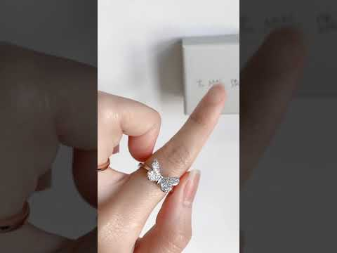 clara butterfly ring 2