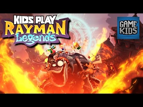Rayman Legends (Music Level Marathon!) - Kids Play
