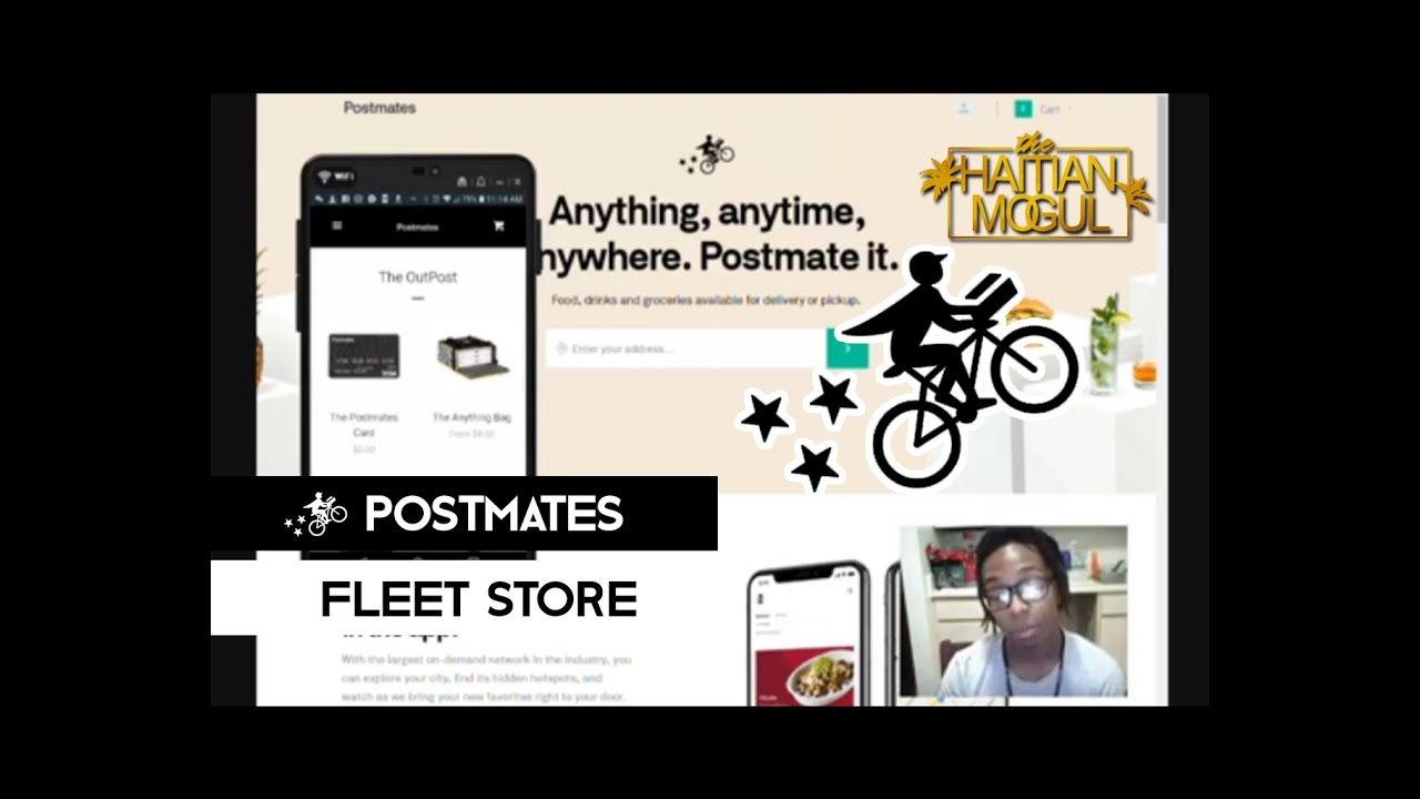 Postmates Mobile Fleet Store | Branding Yourself