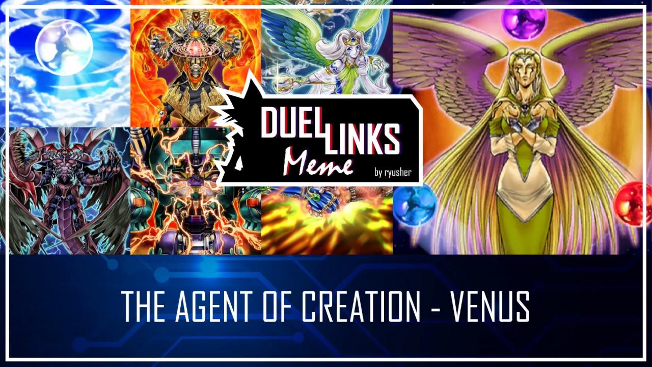 THE AGENT OF CREATION - VENUS - Instant Destiny HERO Plasma  [Yu-Gi-Oh! Duel Links]