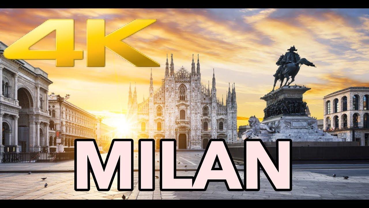 Milan Italy Walking Tour 4k Youtube