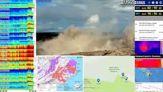 Hawaii 5.2 Kilauea Volcano Eruption USGS SWARM IRIS Data 25.6.18