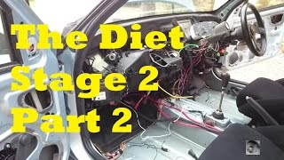 DIET STAGE 2 | Part 2 Peugeot 306 dash and loom strip