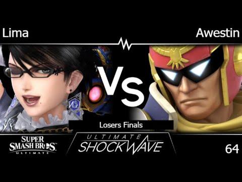 USW 64 - Lima (Bayonetta) Vs TLOC | Awestin (C Falcon, Ness) Losers Finals - SSBU