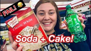 SODA CAKE ! Vegan & Life cake Hack!