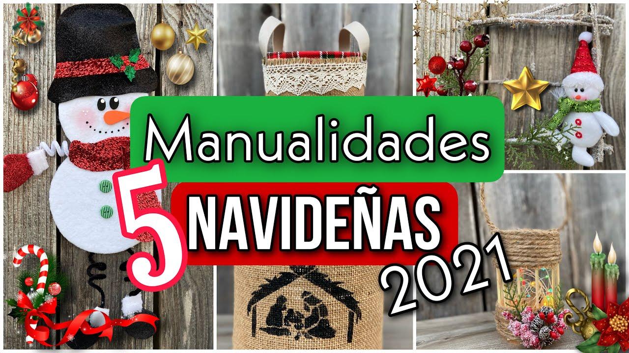 Download 5 MANUALIDADES NAVIDEÑAS CON LATAS/Arranjo Natalino Feito Com Latas/Christmas DIY 2021