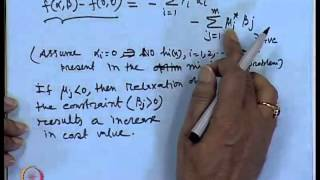 Mod-01 Lec-11 Post optimality analysis, convex function and its properties