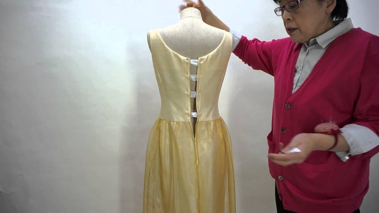ドレスのサイズ直し ドレスがどれ位きつい、ドレスの直し方を知る方法 , YouTube