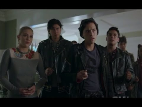The Serpents Save Betty and Alice kicks Chic Out! (Yes!) - Riverdale 2x17 'Try It!'