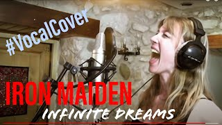 "IRON MAIDEN - ""Infinite Dreams"" vocal cover by Chaos Heidi from ASYLUM PYRE"