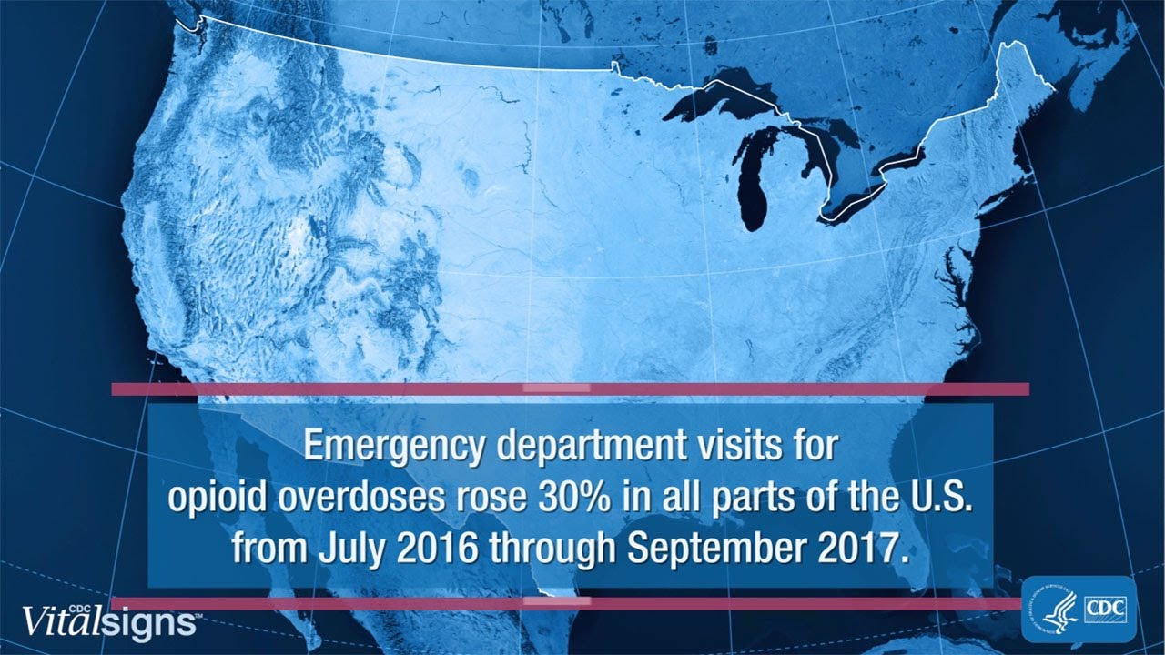 Opioid Overdoses Treated in Emergency Departments