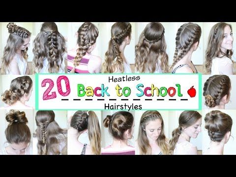 20 Back to School Heatless Hairstyles  | School Hairstyles | Braidsandstyles12