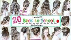 20 Back to School Heatless Hairstyles    School Hairstyles   Braidsandstyles12