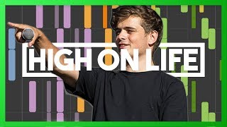 [IMPOSSIBLE] Martin Garrix ft. Bonn - High On Life (piano cover by Max Pandèmix)