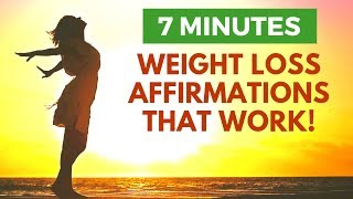 Weight Loss Affirmations That Really Work | 21 Day Morning Meditation Challenge