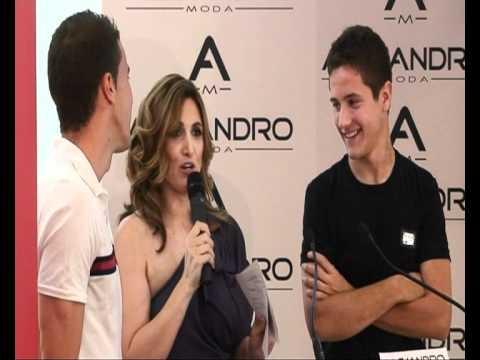 Presentación Forever Cool con Gabi Fernández y Ander Herrera